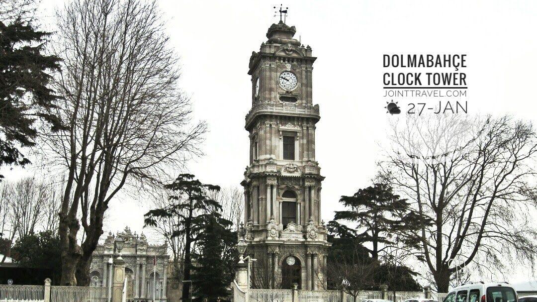 Dolmabahçe Clock Tower (Dolmabahçe Saat Kulesi)