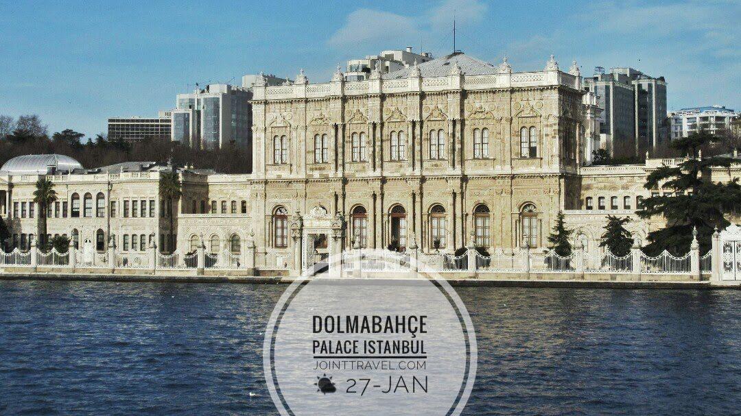พระราชวังโดลมาบาเช (Dolmabahçe Sarayı)