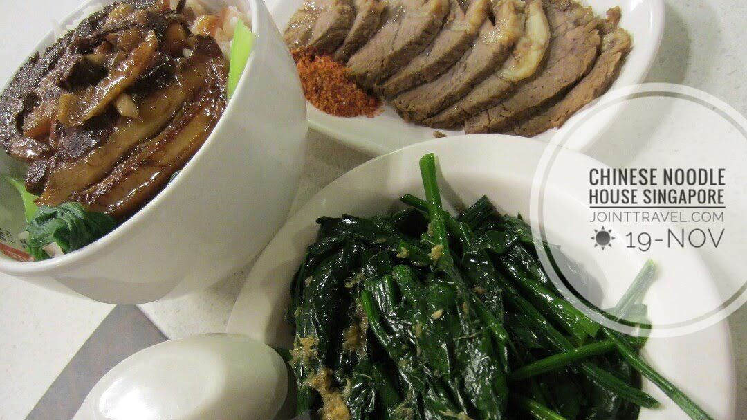 Featured dishes in Singapore