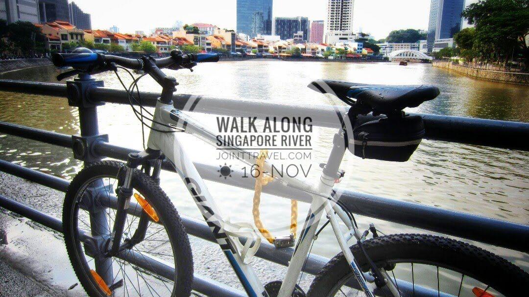 เส้นทางเดินเรียบแม่น้ำสิงคโปร์ (Singapore River Walking Route)