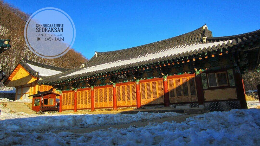 Sinheungsa Temple(신흥사. 설악산)
