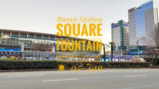 Busan Station Square Fountain