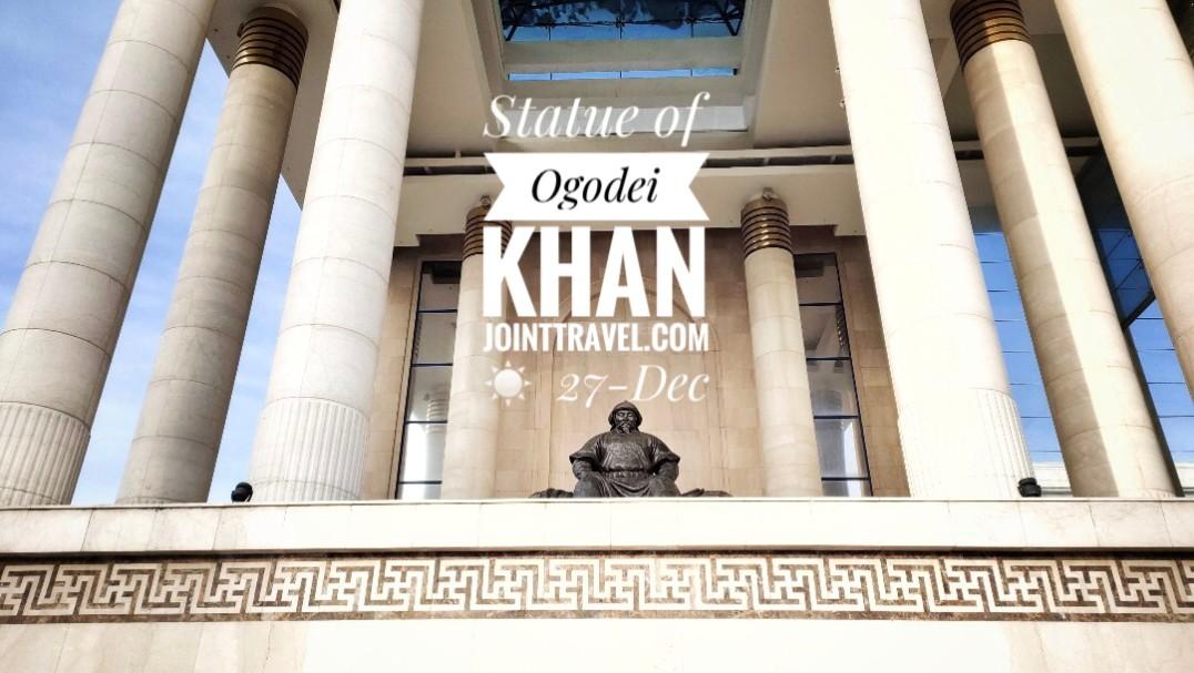 Statue of Ogodei Khan