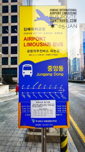 Gimhae International Airport Limousine Bus Route