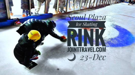 Seoul Plaza Ice Skating Rink