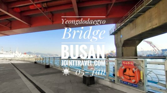 Yeongdodaegyo Bridge Busan